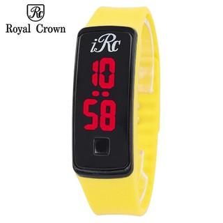 Đồng hồ Led unisex màu vàng - Ly1 thumbnail