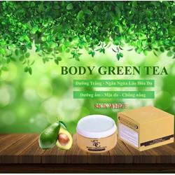 Kem dưỡng trắng da ban đêm Sica whitening BODY GREEN TEA