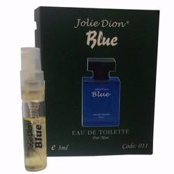 Nước hoa nam tính Jolie Dion Blue eau de toilette 3ml