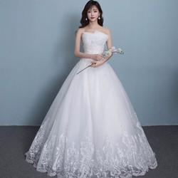 áo cưới cúp ngực gợi cảm, thiết kế mới 2017