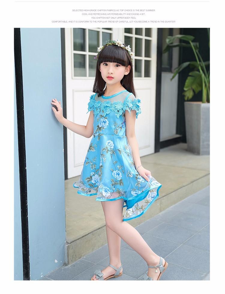 Đầm công chúa 5 đến 6 tuổi 5