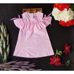 Đầm kate thời trang xuất khẩu bé gái giá rẻ Size: 1-14 tuổi