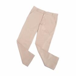 Quần kaki nữ thời trang màu kem