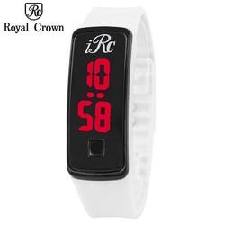 Đồng hồ Led unisex Royal Crown màu trắng