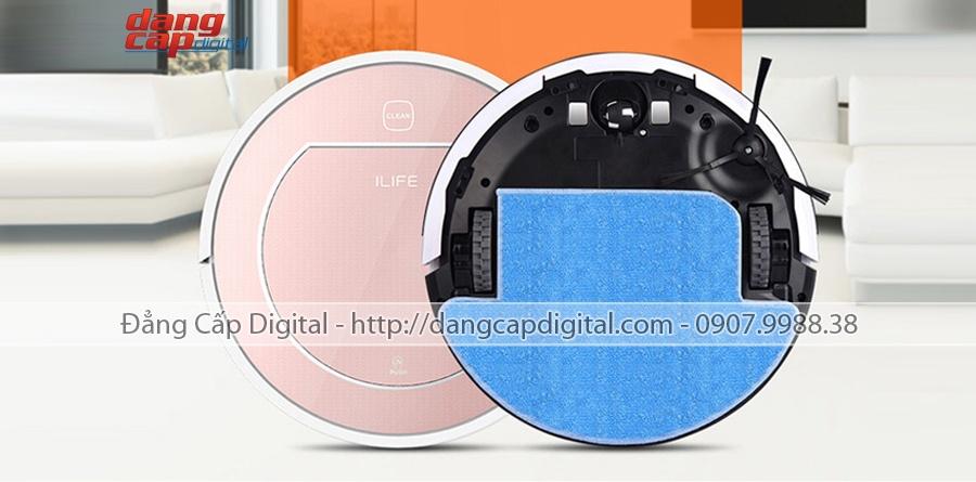 Image result for tấm lau robot lau nhà ilife v7s pro