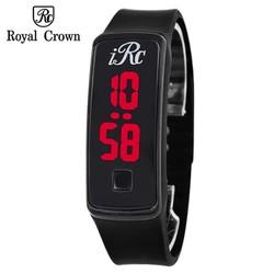 Đồng hồ Led unisex Royal Crown màu đen
