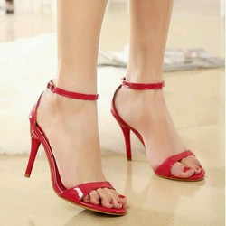 giày cao gót 7 cm quai ngang