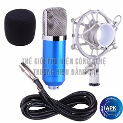 Micro BM800 thu âm + karaoke online + chống sốc kim loại