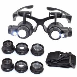 Kính lúp sửa chữa kính phóng đại đa năng 10x 15x 20x 25x