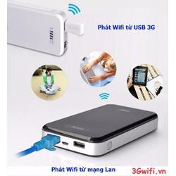 Bộ phát wifi di động từ Usb 3G HAME F2