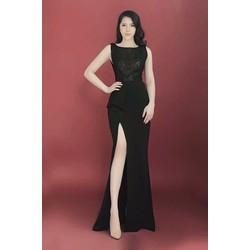 Đầm dạ hội cao cấp xẻ tà quý phái  NS007