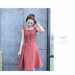Đầm suông phong cách trẻ trung dễ mặc
