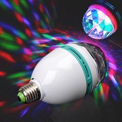 Đèn cầu LED xoay nhiều màu tạo hiệu ứng độc đáo Tặng kèm chuôi