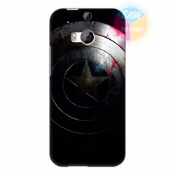Ốp lưng HTC One M8  in hình Captian America