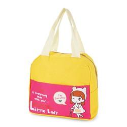 Túi đựng cơm xinh xắn cô gái mẫu mới - V4