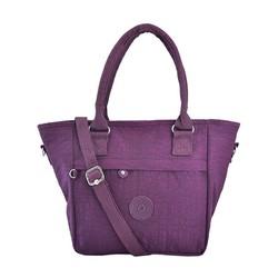 Túi xách Kipling quai tròn màu tím đậm