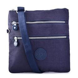 Túi đeo chéo ipad màu xanh