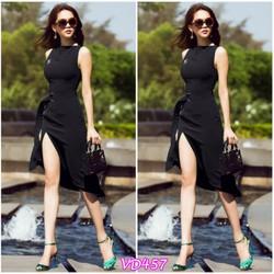 Đầm Body xẻ tà quyến rũ VD457