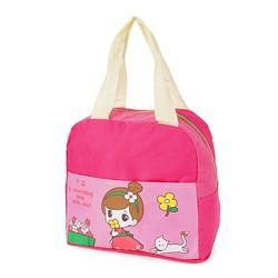 Túi đựng cơm xinh xắn cô gái mẫu mới - V3