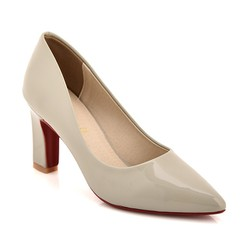 Giày cao gót B22 màu xám size 39