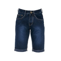 Quần shorts jeans nam xanh đậm 021 size 28