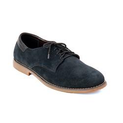 giày nam oxford thương hiệu Tamyshose vải nhung size 42