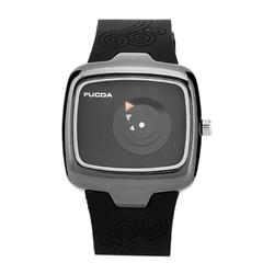 Đồng hồ nữ dây su mặt chống nước 01010012
