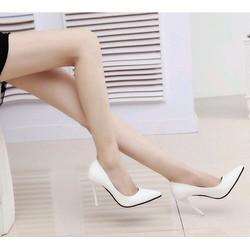 Giày cao gót bít mũi 9cm