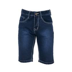 Quần shorts jeans nam xanh đậm 061 size 29