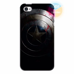 Ốp lưng iPhone 4s in hình Captian America