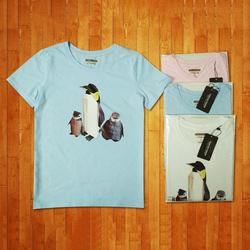 Áo thun Origami Chim cánh cụt