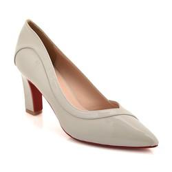 Giày cao gót B23 màu xám size 39