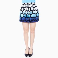 Chân váy xòe chấm bi xuất khẩu size M