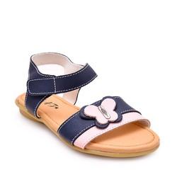 Giày da thật cho bé N008 - xanh đen size 31