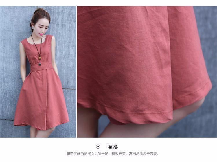 Đầm xòe Hàn nhập chuẩn dáng đẹp 11