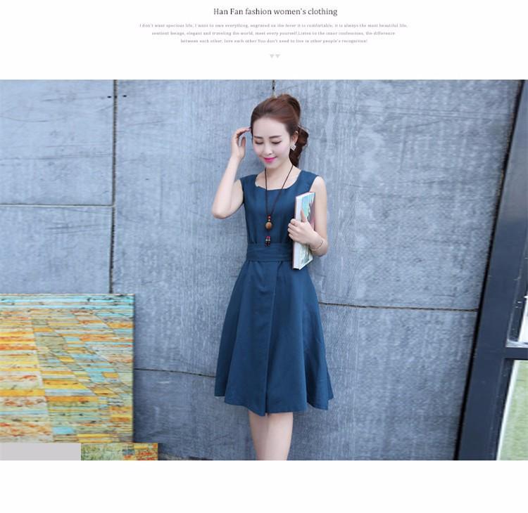 Đầm xòe Hàn nhập chuẩn dáng đẹp 8