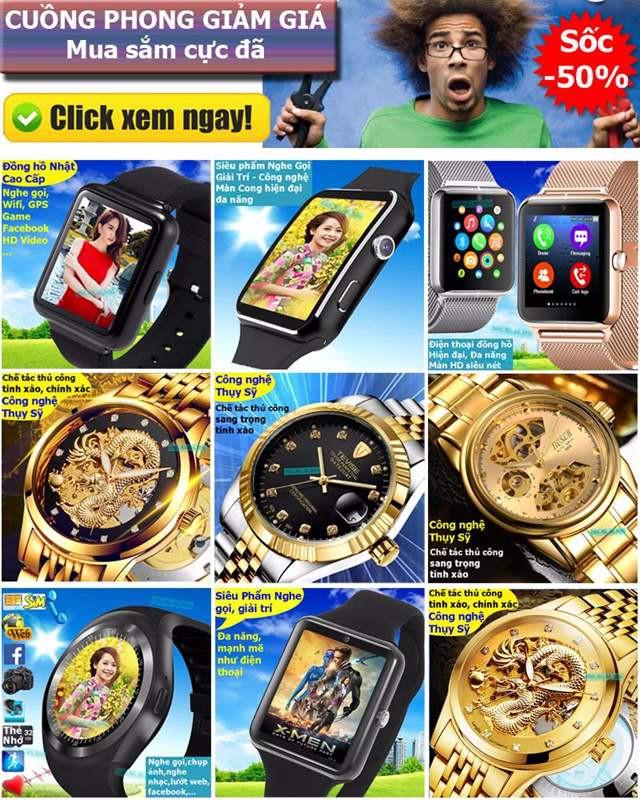Đồng hồ thông minh Nhật Màn Cong Fuji MB6 17