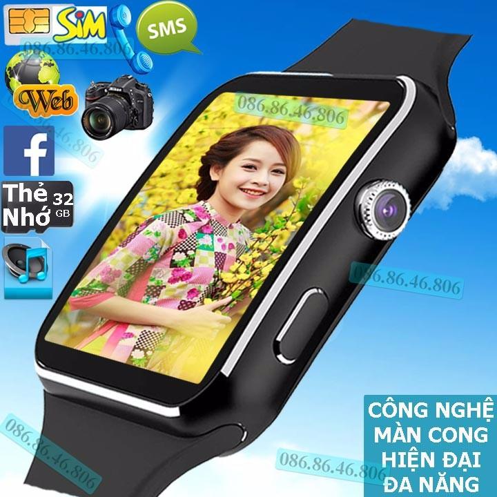 Đồng hồ thông minh Nhật siêu phẩm Màn Cong nghe gọi giải trí Fuji MB6 1