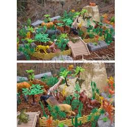 Bộ xếp hình túi thú khủng long
