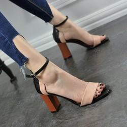 Giày cao gót Kórea quai ngang cao cấp - CG101
