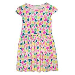 Đầm xinh hình tim cho bé gái