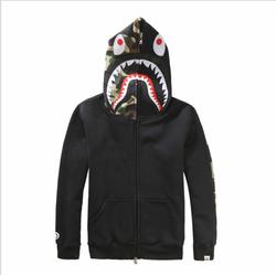 Áo khoác nam hoodie Bape cá mập - SHK0135