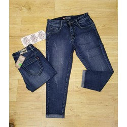 quần lửng jean cào rách