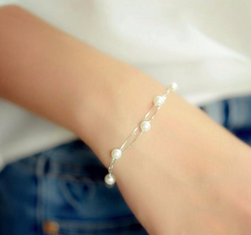 Lắc Tay Nữ Ngọc Trai Xinh S572 6