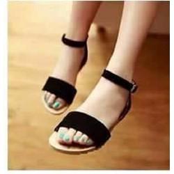 Giày sandal gót 1p quai to