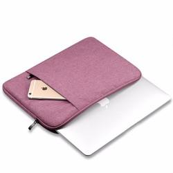 Túi chống sốc cho Macbook, Laptop màu hồng 13inch - 15inch