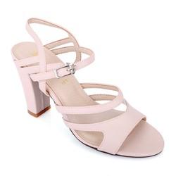 Giày cao gót L03 màu kem size 39