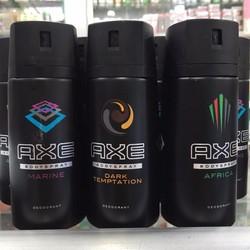 Xịt Toàn Thân Khử Mùi Nam Axe Body Spray Africa 150ml