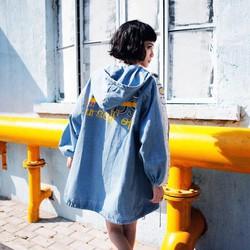 Áo khoác Jeans QC cao cấp siêu cute