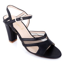 Giày cao gót L03 màu đen size 39